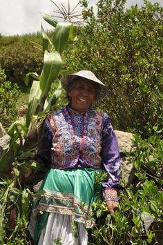 Cabanaconde, fête de la candelaria dans le canyon de colca au Pérou