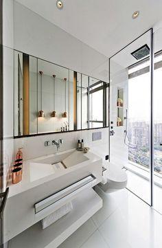 Some modern luxury bathroom design ideas for your home ! #bathroomdecoration #bathroomfurniture #homedecor #bathroomideas #modernfurniture #moderndesign #designproject #inspirationdesign