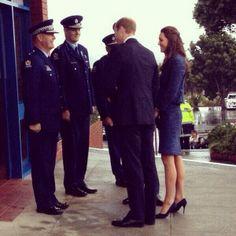 Cambridge's in New Zealand 4/15/2014