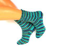 Hand knitted socks Warm socks Winter socks от MittensSocksShop