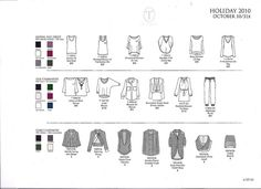 Adobe Illustrator Flats | a line sheet