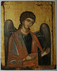 Synaxis of the Archangel Gabriel 26 April Archangel Gabriel, Archangel Michael, Byzantine Icons, Byzantine Art, Religious Icons, Religious Art, Russian Icons, Art Icon, Orthodox Icons
