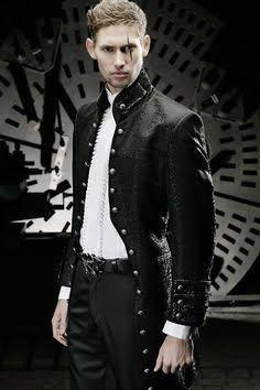 Resultado de imagem para professional goth male fashion
