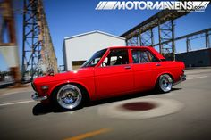 CENTER STAGE> 1970 Datsun Nickel & Dime Sedan   MotorMavens   Car Culture and Photography