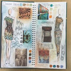 fashion sketchbook Fashion Design Portfolio Research Sketchbook Pages Best Ideas Fashion Sketchbook, A Level Art Sketchbook, Sketchbook Layout, Sketchbook Pages, Sketchbook Ideas, Sketchbook Assignments, Sketchbook Drawings, Doodle Drawings, Mise En Page Portfolio Mode