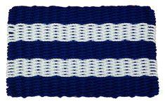 Blue & White Shoreline - Cape Cod Doormats