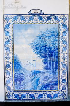 azulejos @ Ovar Railway Station, Portugal (3)