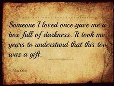 Box full of darkness