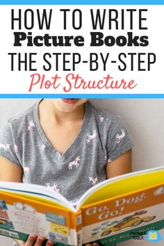 Want to write a picture book but aren't sure how to start? Use the simple step-by-step breakdown of the picture book plot structure to write your story now! Writing Kids Books, Book Writing Tips, Book Writer, Writing Guide, 50 Words, Small Words, Writing Pictures, Children's Picture Books, Going To Work