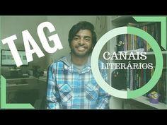 Minha Primeira Tag do canal!!! TAG: Canais Literários!
