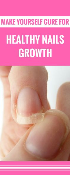Make yourself cure for healthy nails growth