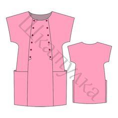 Pattern dress for girl KD080817