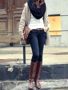 Elegant winter outfit, www.lolomoda.com