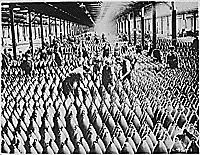 English women in munition factory. Women and men working in storage shed for large shells. In most of the munition centers the Young Womens Christian Association has established cafeterias and shampoo parlors. 1918 - ca. Military Units, Total War, Great Power, National Archives, Married Woman, Red Cross, Wwi, World War Ii, Agriculture