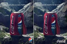 Pepsi VS Coca Cola - Halloween 2013
