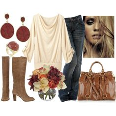 pretty fall stuff i love everything but i wish the boots didnt have a heal on it