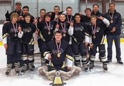 """The Onondaga Thunder 12 and under ice hockey team competed a season that began with not having a place to practice and finished with winning state and regional championships. """"They had a great run,"""" coach Greg Burns said of..."""