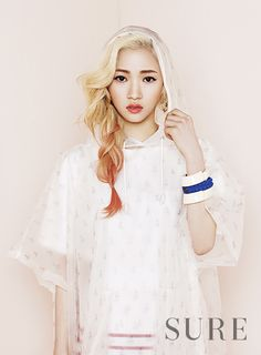 Ladies Code Rise and Sojung - Sure Magazine June Issue 13