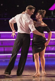 They nailed it: Derek and Bindi seemed to know they doing splendidly