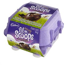 Caramilk Scoops Easter Baskets