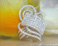 Glorious Princess Diamond Ring » Juwelier Schmucktraeume.com