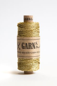 The new yarn colour gold! With a wonderful brass glow - you will love it!