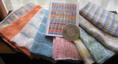 Diana natters on... about machine knitting: It's a Book! Best Baby Blankets is Finished & Available!