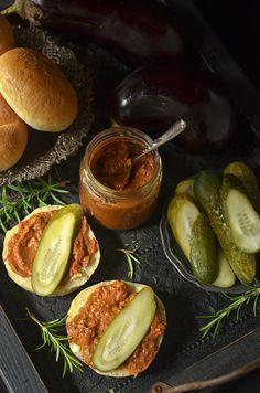 pasta zbakłażana ipomidorów Polish Recipes, Polish Food, Eggplant Recipes, Pretzel Bites, Food Inspiration, Food And Drink, Pasta, Bread, Dining