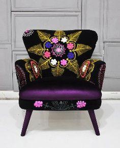 Retro style. armchair.