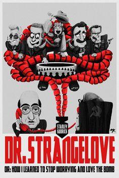 Dr. Strangelove by Matt Kroeger - Home of the Alternative Movie Poster -AMP-