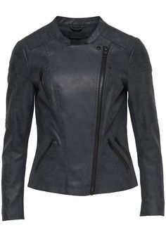 Only Lederimitatjacke »ONLAVA« mit Biker-Details | OTTO Biker, Motorcycle Jacket, Faux Leather Fabric, Faux Leather Jackets, Shop Now, Slim, Detail, Stylish, Clothes