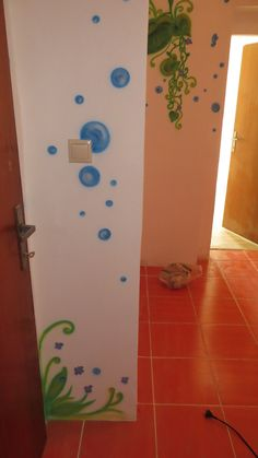 bublinky sú všade po stenách