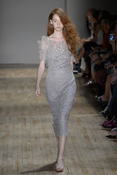 Jenny Packham RTW Spring 2015 - Slideshow - Runway, Fashion Week, Fashion Shows, Reviews and Fashion Images - WWD.com Spring 2015, Summer 2015, Spring Summer, Sexy Dresses, Fashion Dresses, Runway Fashion, Fashion Show, Jenny Packham, Designer Gowns