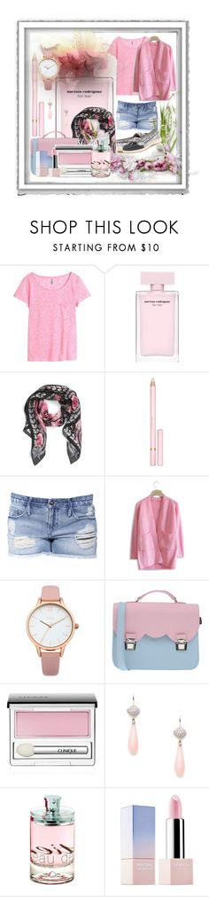 """For Her"" by bren-johnson ❤ liked on Polyvore featuring moda, Polaroid, H&M, Givenchy, AERIN, Black Orchid, Chicwish, Oasis, La Cartella y Clinique"