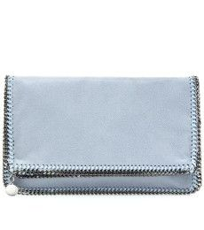 FALABELLA SHAGGY DEER FOLD-OVER CLUTCH by Stella McCartney