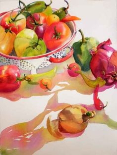 Some Like it Hot still life, painting by artist Kay Smith