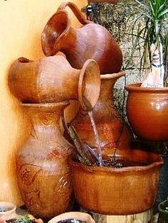 Tinajas para jardin google search c ntaros y tinajas for Buscador de agua