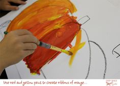 Creative Art Projects for Busy Teachers Kindergarten Art Lessons, Art Lessons For Kids, Art For Kids, Kid Art, Pumpkin Drawing, Pumpkin Art, Pumpkin Painting, Fall Art Projects, Thanksgiving Projects