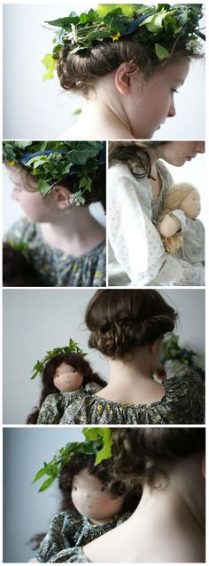 Happy to see you the Real French doll handmade in France, copied by Bonpoint in China....