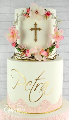 Communion cake /christening cake/ confirmation cake