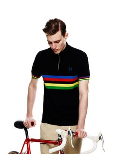 Fred Perry x Cycling Blank Canvas S/S2012.