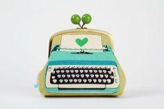 Typewriter purse.