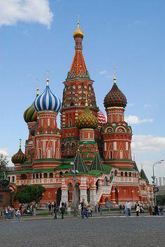 Cathédrale de #Moscou - #Russie