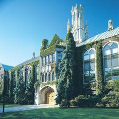 Most Iconic building @ my  uni.-> Dillion Hall.  @ University of Windsor