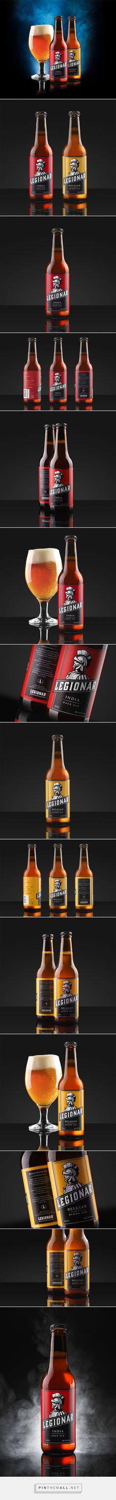 Legionar Beer - Packaging of the World - Creative Package Design Gallery - http://www.packagingoftheworld.com/2016/09/legionar.html