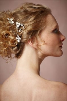 Elysium Hairpins (3) in Shoes & Accessories Headpieces Pins, Clips & Combs at BHLDN | Debra Moreland | $280