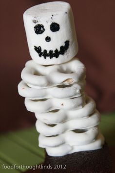 Food for Thought: October Cake Club: Halloween Skeleton Treats