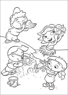 Little Einsteins Fargelegging for barn. Tegninger for utskrift og fargelegging nº 37