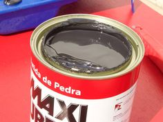 Pintar_Sem_Lixar - 3 Decoration, Art Decor, Diy Home Decor, Paint Furniture, Furniture Makeover, Home Repair, Upcycled Furniture, Diy Tools, Coffee Cans