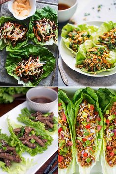 Chinese chicken lettuce wraps might be the most well known (and completely delicious), but the ideas don't stop there. Consider In-N-Out's protein style for instance, all the deliciousness of a burger without those pesky carbs. This collection of lettuce wrapped recipes will make you swear off bread for good.